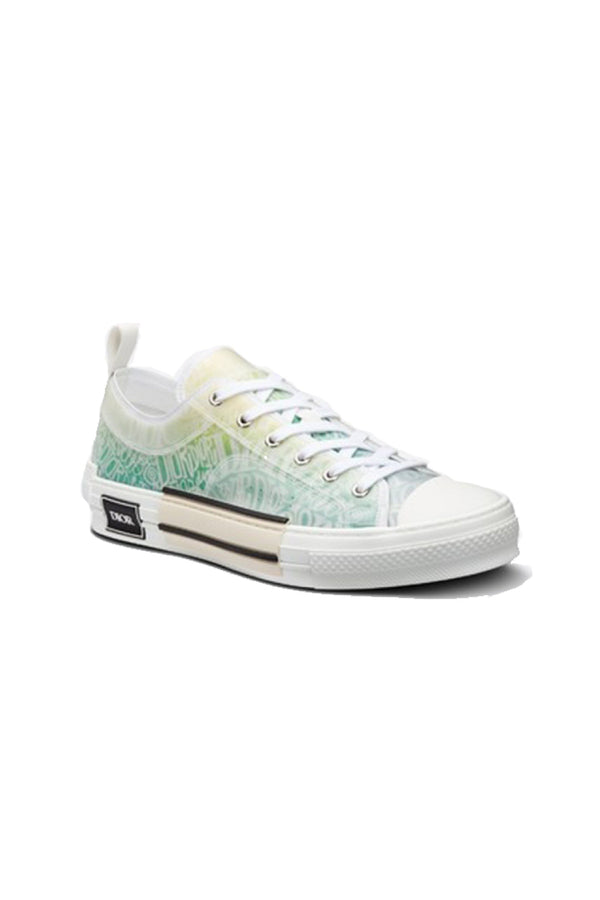 Dior x Stussy B23 Low-Top Sneaker Canvas Yellow/Green
