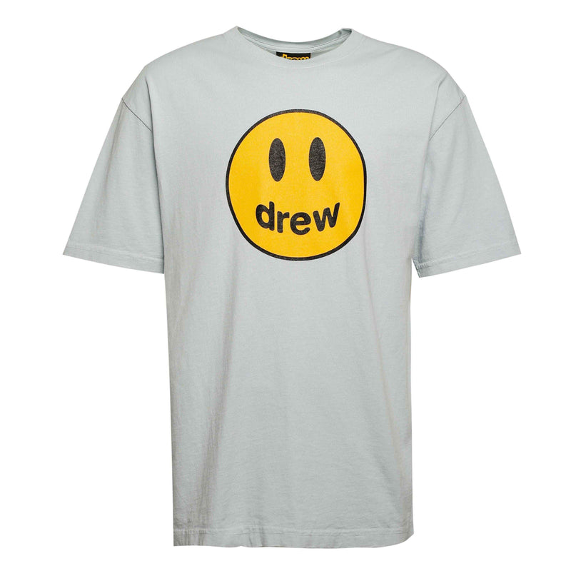 Drew Smiley Logo Tee Blue