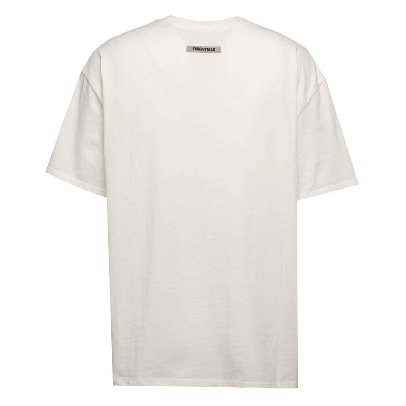 Fear of God Essentials Front Logo Tee White