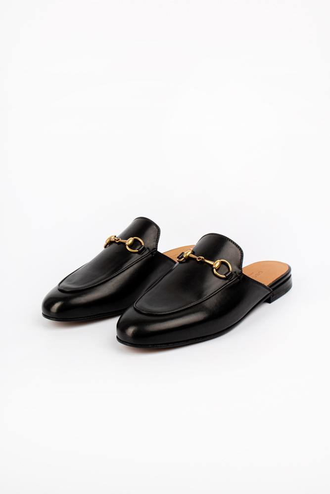 Gucci Kings Slip-On Loafers Black