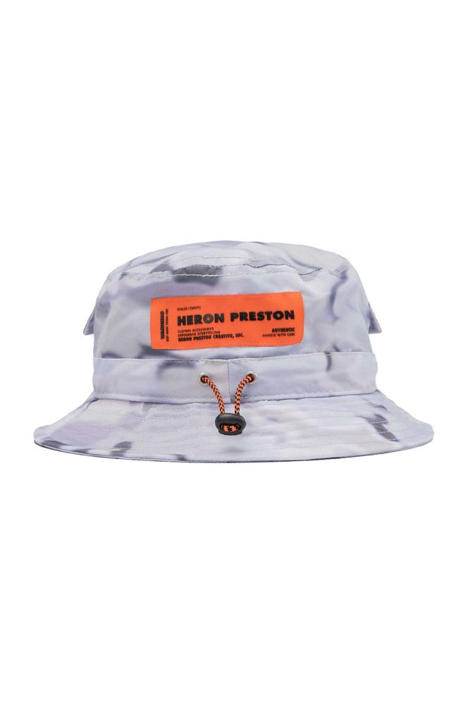 Heron Preston Bucket Hat Grey