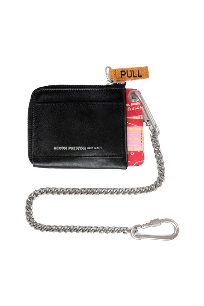Heron Preston Chain Wallet Black