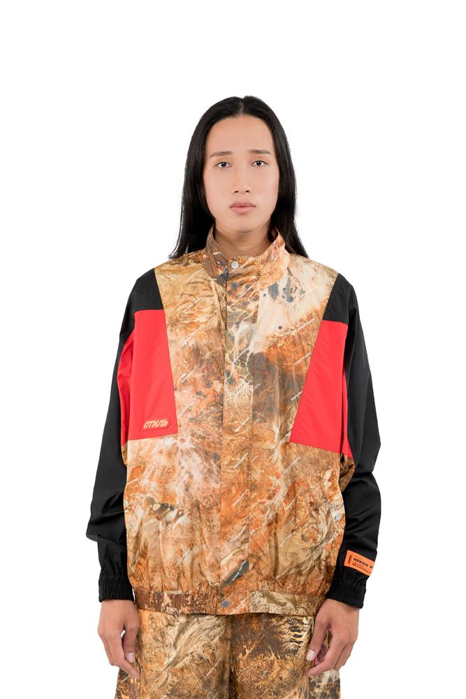 Heron Preston CTNMB Track Jacket Brown