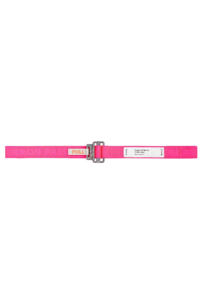 Heron Preston Gros Tape Belt Pink
