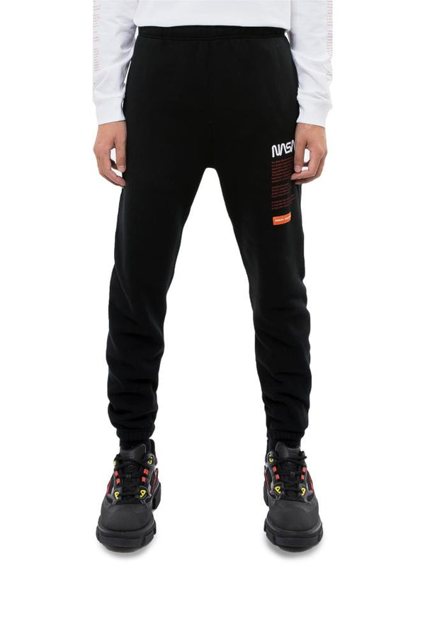 Heron Preston NASA Sweatpants Black