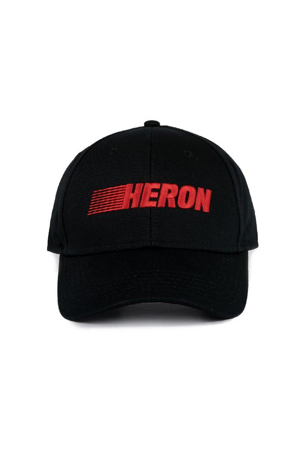 Heron Preston Racing Cap Black