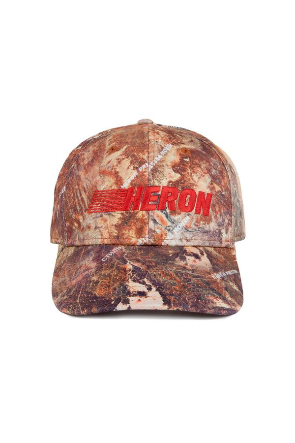 Heron Preston Racing Cap Brown
