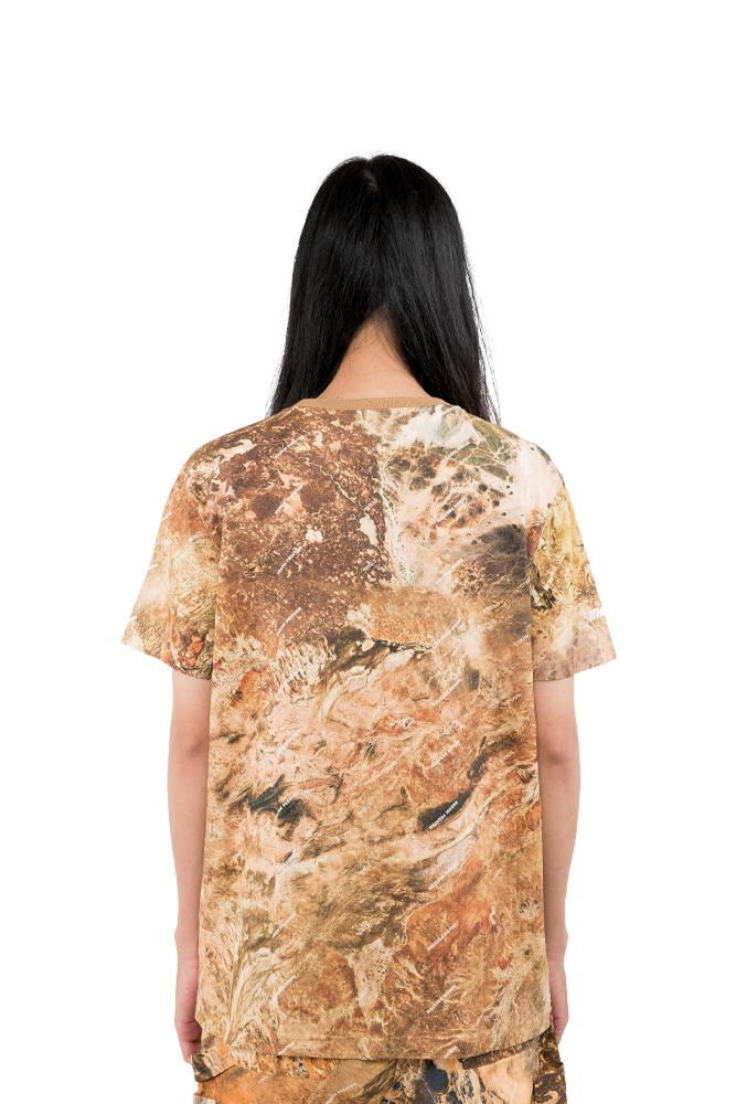 Heron Preston Racing Tee Brown