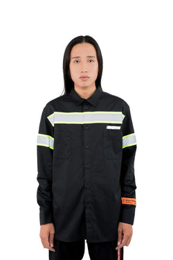 Heron Preston Reflector Shirt Black