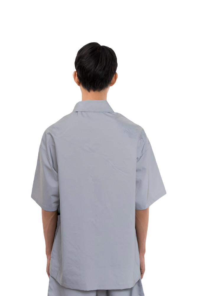 Heron Preston Skull Reflex Shirt Grey