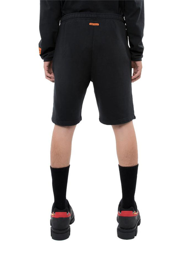 Heron Preston Stickerla Shorts Black