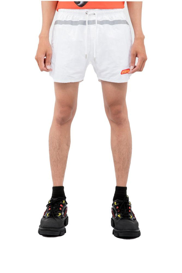 Heron Preston Swim Shorts White