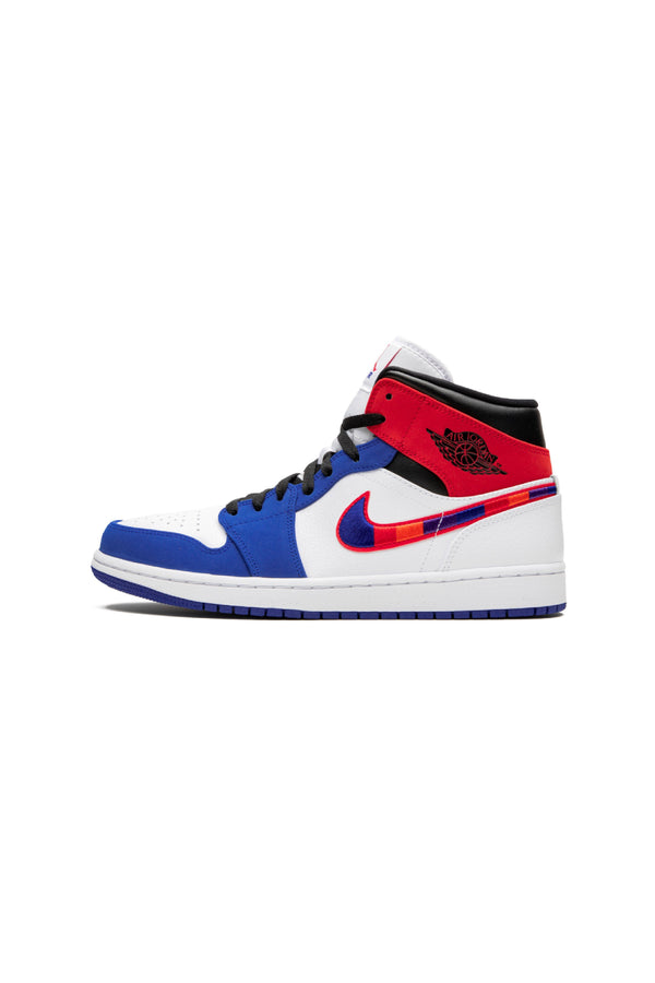 Jordan 1 Mid Multi-Color Swoosh