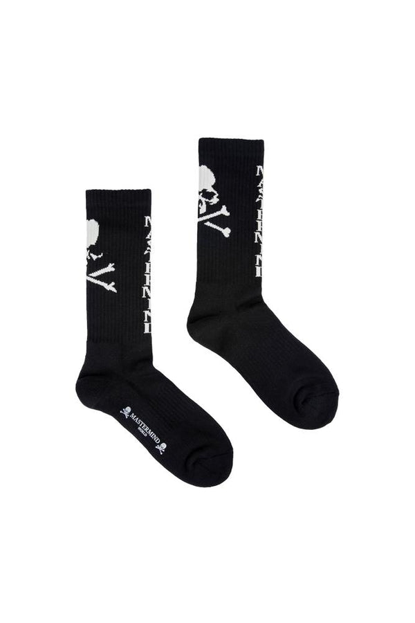 Mastermind World Skull Logo Socks Black
