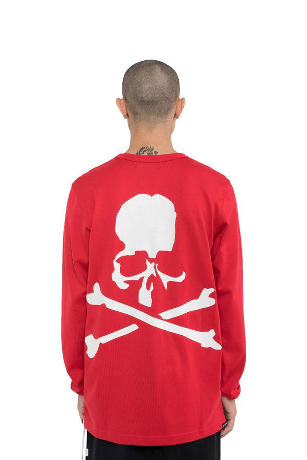 Mastermind World Skull Long Sleeve Tee Red