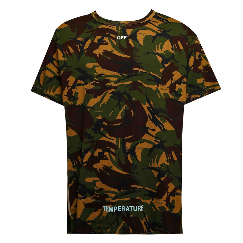 Off-White Camouflage Temperature Tee