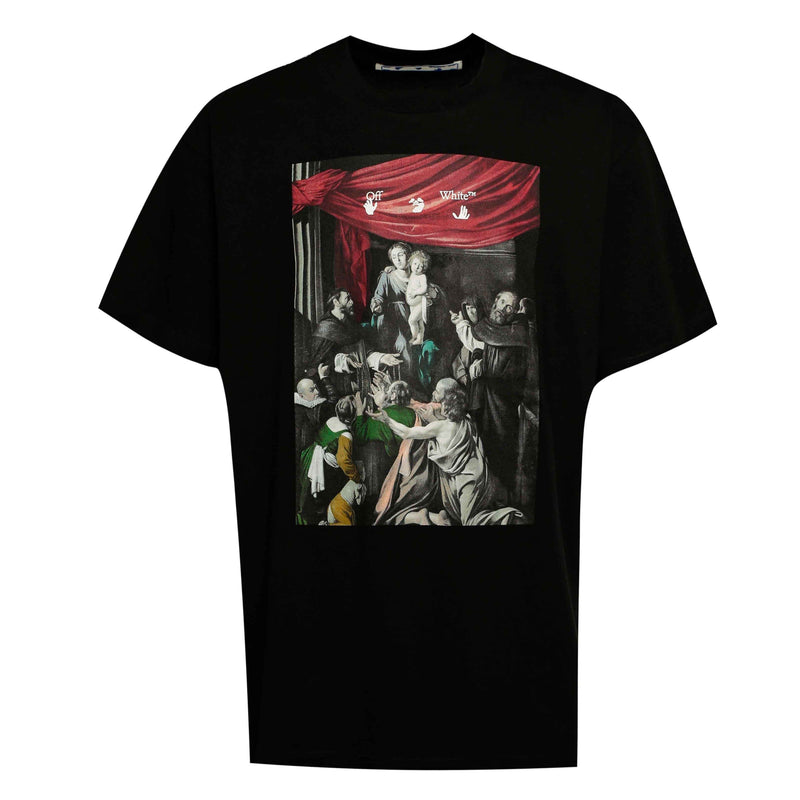 Off-White Caravaggio Painting Tee Black