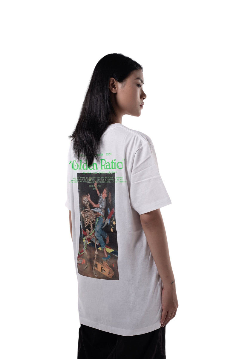 Off-White Pascal Painting Golden Ratio Tee White