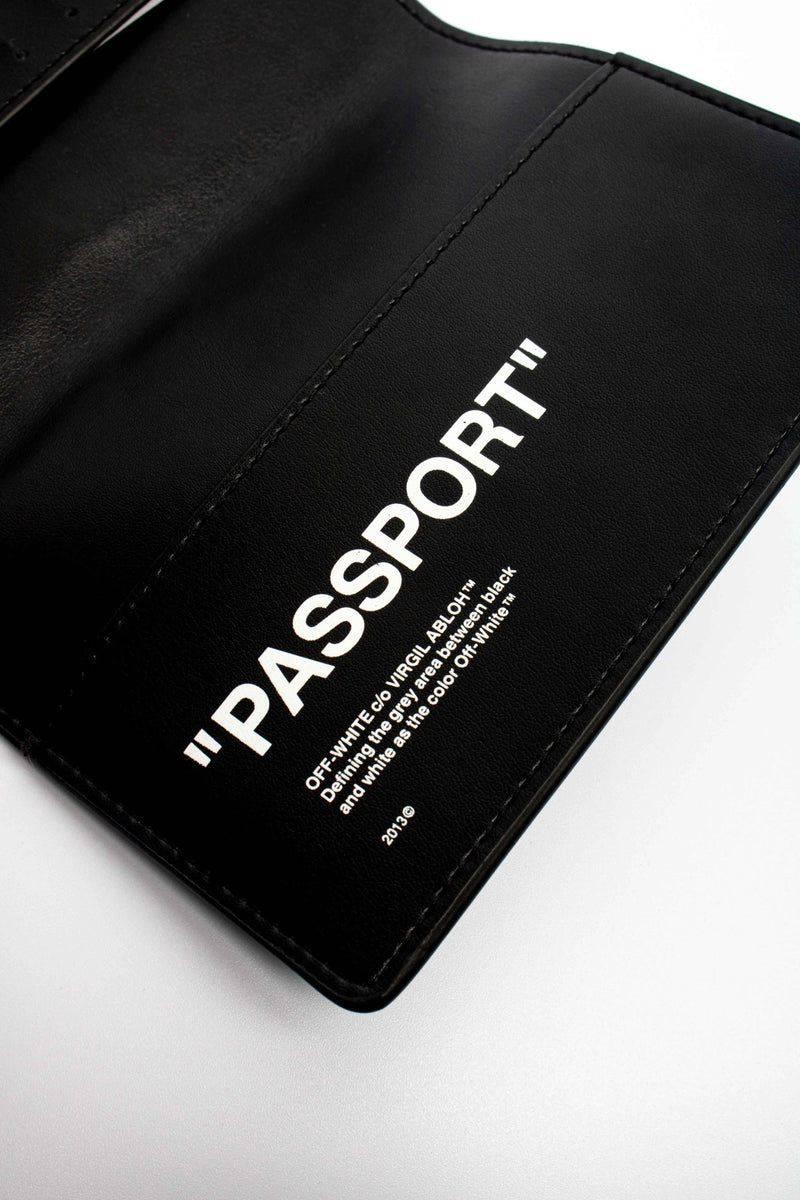 Off-White Passport Quote Wallet