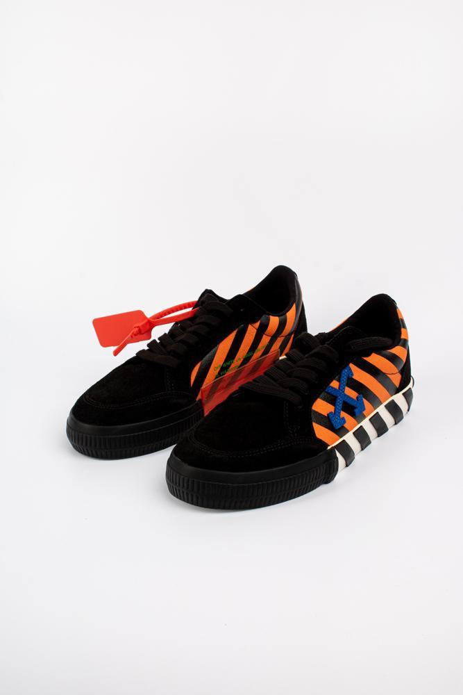 Off-White Vulcanized Low-Top Sneakers Orange/Black