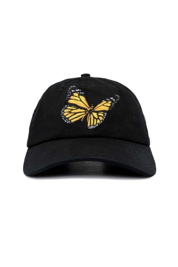 Palm Angels Butterfly Cap Black