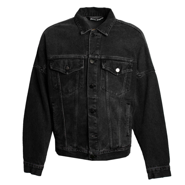 Palm Angels Denim Jacket Black
