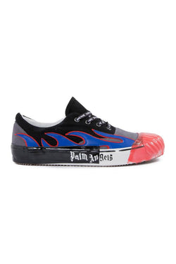 Palm Angels Flame Sneakers Blue
