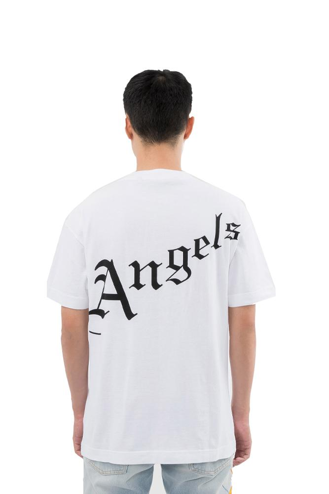 Palm Angels Gothic Logo Tee Black