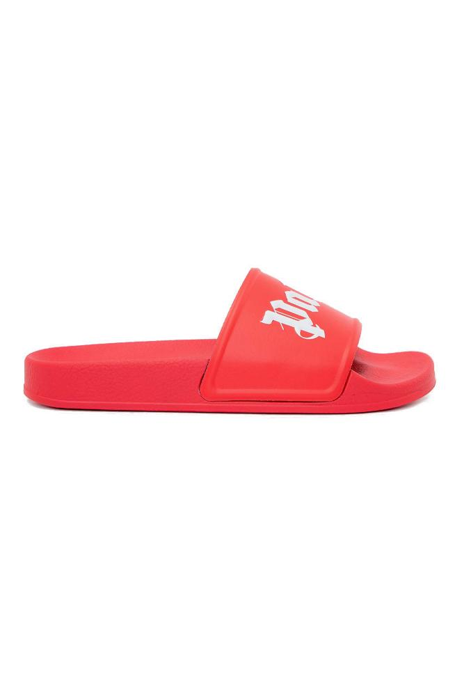 Palm Angels Pool Slide Red