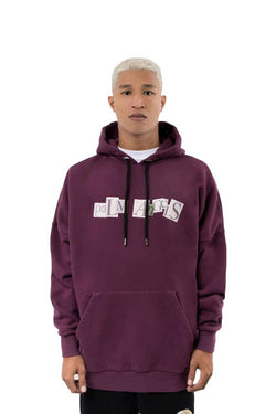 Palm Angels Ransom Hoodie Purple