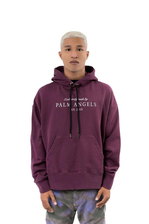 Palm Angels Vintage Hoodie Purple