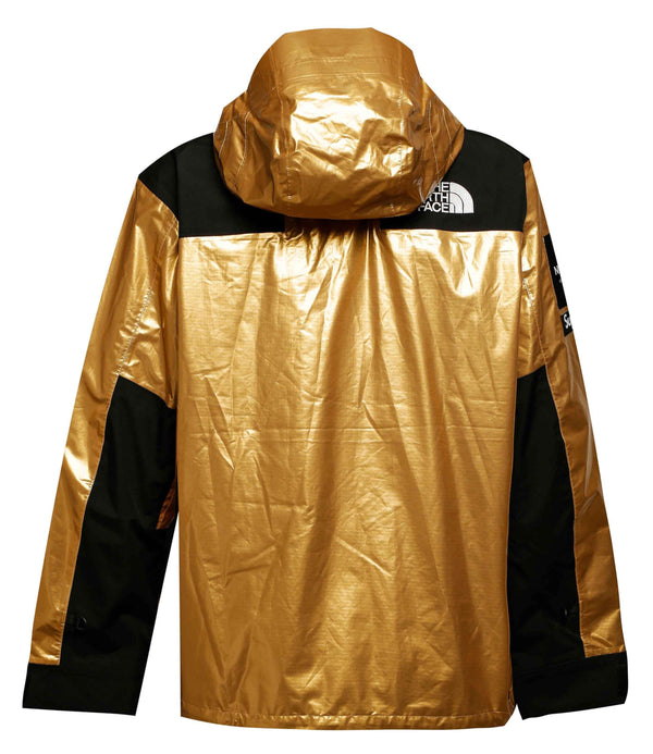 Supreme x The North Face Metallic Mountain Parka Gold
