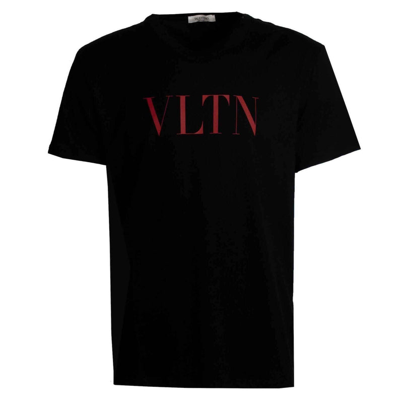 Valentino Logo Tee Black/Red