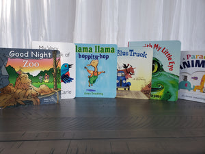 Books from Beach Baby Crib Rentals