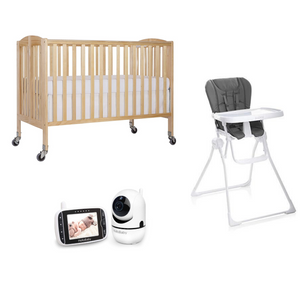 Baby Gear Package - Beach Baby Crib Rentals