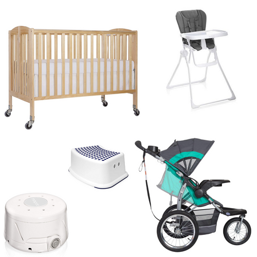 Deluxe Baby Gear Rental Package from Beach Baby Crib Rentals