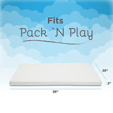 Load image into Gallery viewer, Mattress Topper for Pack N Play