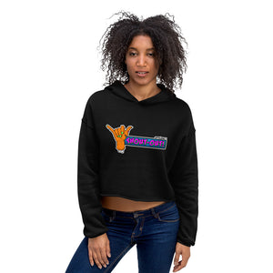 Shout-Out SpikeNet (Zombie) Crop Hoodie