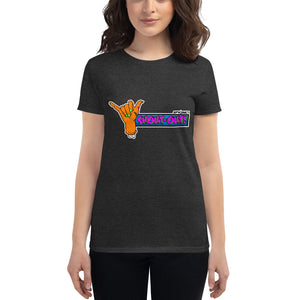 Shout-Out SpikeNet (Zombie) Women's short sleeve t-shirt