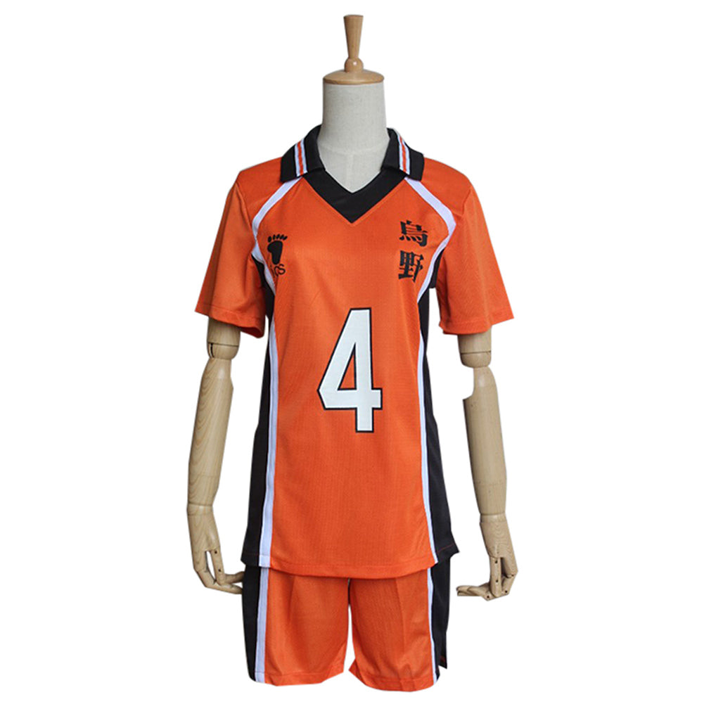 Haikyuu Cosplay Costume Nishinoya Yuu Sportswear Shirt Jerseys