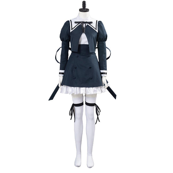Assault Lily BOUQUET Cosplay Costume School Uniform Dress Outfits Halloween Carnival Costume