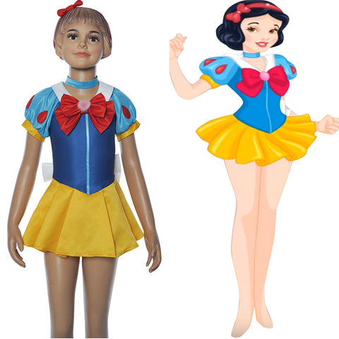 Snow White Sailor Moon Change Outfit Cosplay Costume
