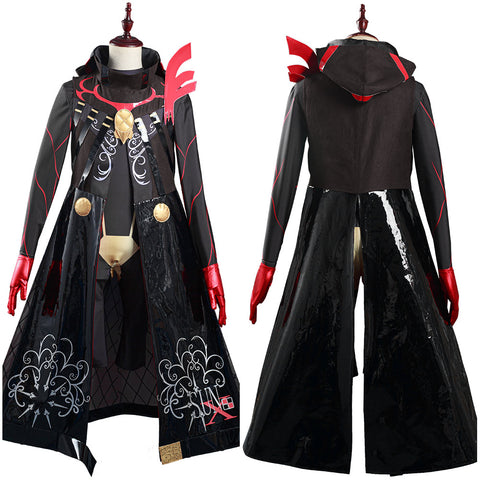 FGO Fate/Grand Order Karna (Santa) Cosplay Costume Jumpsuit Outfits Halloween Carnival Suit