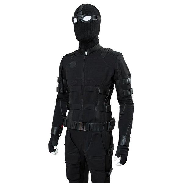 2019 Movie Avengers Endgame Stealth Suit  Peter Parker Cosplay Costume