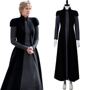 Game of Thrones Season 8 S8 Cersei Lannister Gown Cosplay Costume