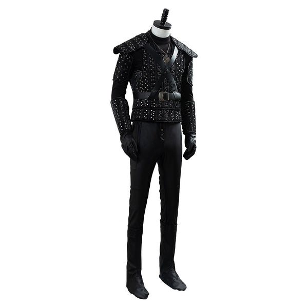 The Witcher Cavill Geralt TV Show Outfit Cosplay Costume