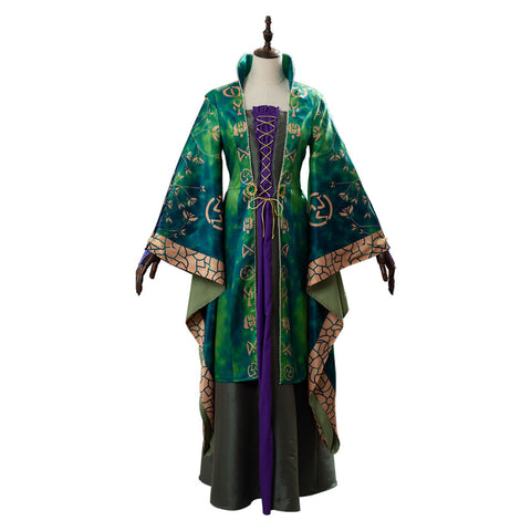 Hocus Pocus Winifred Sanderson Dress Cosplay Costume