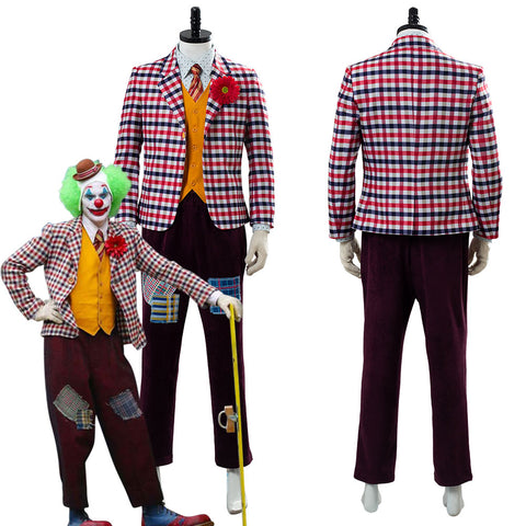 Joker Origin Romeo Joaquin Phoenix Arthur Fleck Dress DC Cosplay Costume