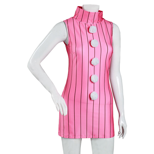 The Seven Deadly Sins Diane Cosplay Costume Women Sleeveless Dress Halloween Carnival Suit
