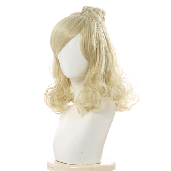 Game Animal Crossing Isabelle Cosplay Wig Heat Resistant Synthetic Hair Carnival Halloween Party Props